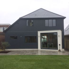 Whitstable, Marley Vertical Click Cladding, Modern Renovated house